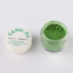 Dust  - Edible Art Powdered Colours - GREENS