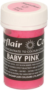 25g Sugarflair Concentrate paste - PINKS