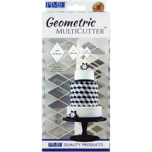 PME Geometric Diamond Cutter set