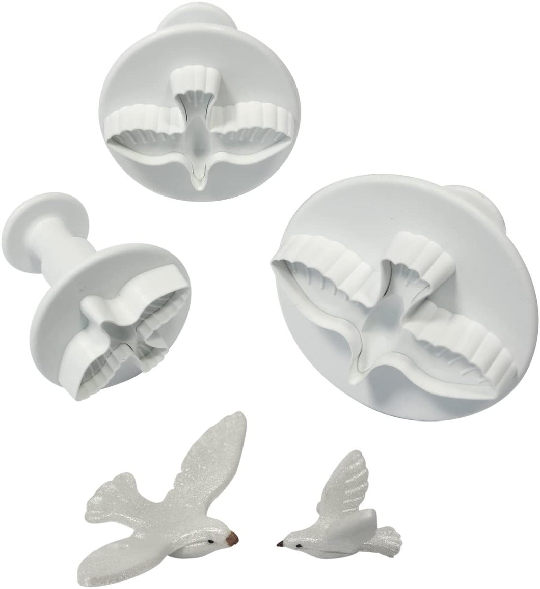 Cutters - Dove plungers - set of 3 PMM