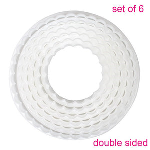 Cake Star - Double sided round cutter set - smooth/fluted