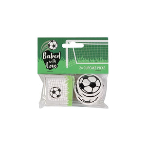 Cake Picks - Football design