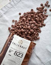 chocolate drops: 125g  Milk chocolate callets