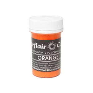 25g Sugarflair concentrated Paste - ORANGES