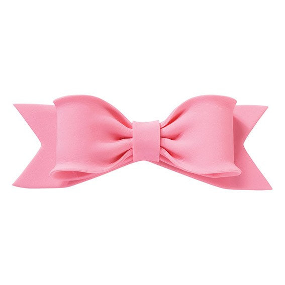 Cake Topper - Bow 150mm x 50mm - VARIOUS COLOURS