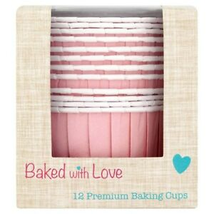 Cupcake Cases - Pink Baking Cups -24 pack
