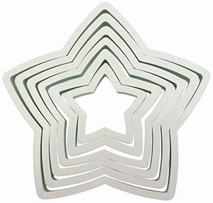 Cutter - Star set of 6 - PME