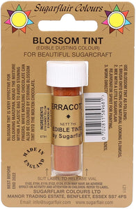 Dusts - Sugarflair - Blossom Tint - Terracotta