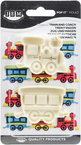 Mould - JEM Pop It Train and Coach set