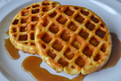Waffles w/ Low-Carb Syrup (4-Pack)