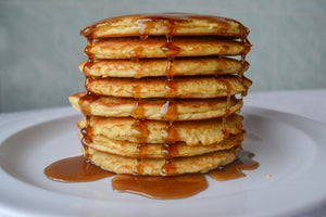 Pancakes w/ Low-Carb Syrup (4-Pack)