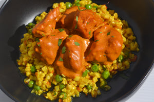 Indian Butter Chicken w/ Saffron Cauli Rice Mix