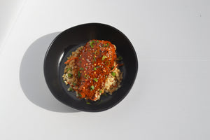 General Tso Chicken w/ Fried Cauli Rice Mix