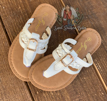 Load image into Gallery viewer, White Sandals