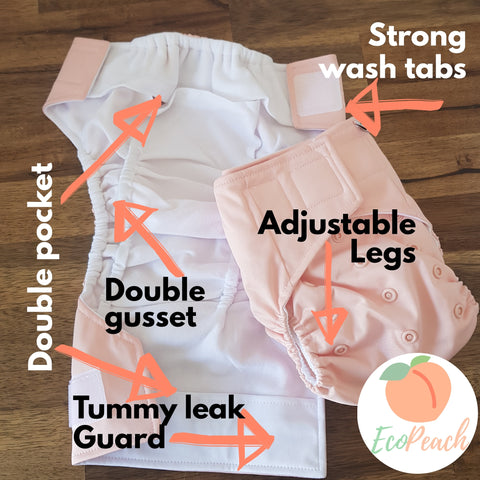 EcoPeach Nappy/Diaper Feature Image