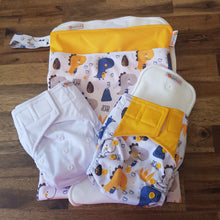 Load image into Gallery viewer, Modern Cloth Nappy Starter/Trial Pack