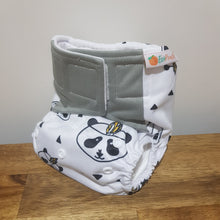 Load image into Gallery viewer, Modern Cloth Nappy -Kung Poo Panda --velcro
