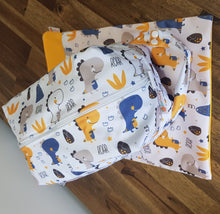 Load image into Gallery viewer, Modern cloth nappy pack- Carer 2.1- Rainbows and Peaches