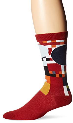 Coonley Playhouse Men's Sock, red.