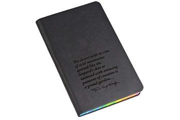 Frank Lloyd Wright Quote Rainbow Journal