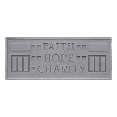 Larkin Plaque - Faith Hope Charity