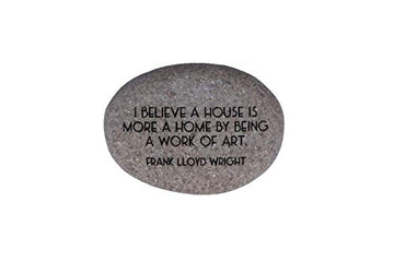Photo of Quote Rock-House showing quote.
