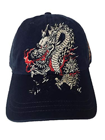 Frank Lloyd Wright Store - Taliesin West Dragon Carter Hat - Embroidered Navy