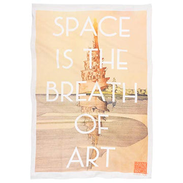 Tea Towel (Quote-Space).