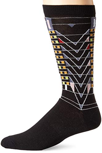 Tree of Life Men's Sock, black.