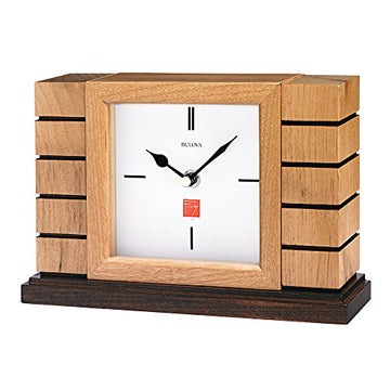 Usonian II Mantel Clock from front