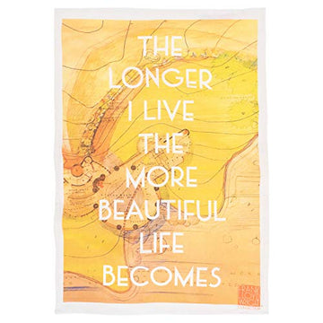 Tea Towel (Quote-Beautiful Life).
