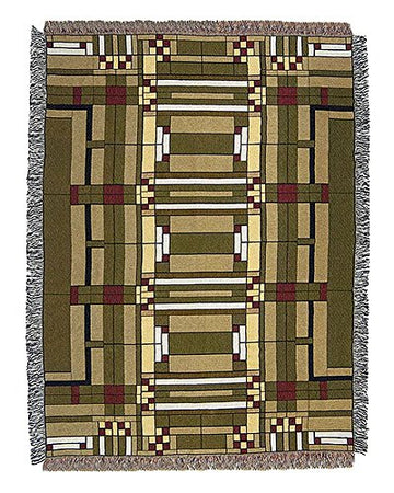 Oak Park Skylight Throw Blanket top
