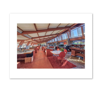 Taliesin West Drafting Studio Print