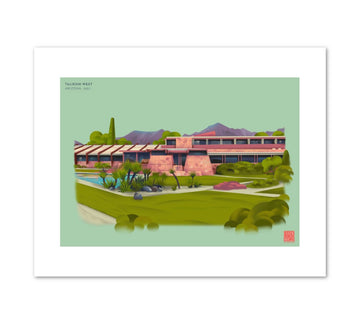 Taliesin West Illustration Print