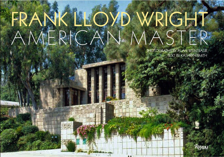Frank Lloyd Wright: American Master, front cover.