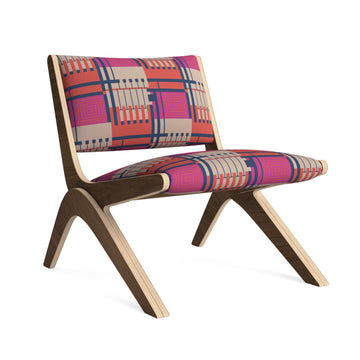 Arcadia Lounge Chair in Urban Heart
