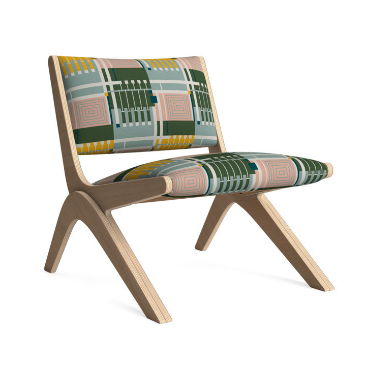 Arcadia Lounge Chair in Retro Jungle.