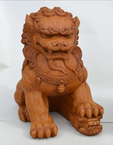 Fu Dog Female, Terracotta.