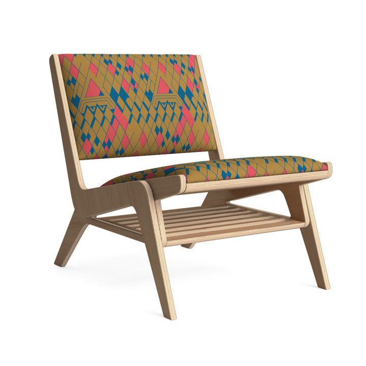 Edgar Lounge Chair in Gumdrop Desert.