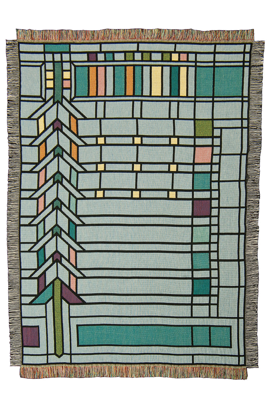 Martin House II Throw Blanket