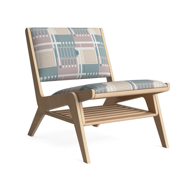 Edgar Lounge Chair in Muted Muse.