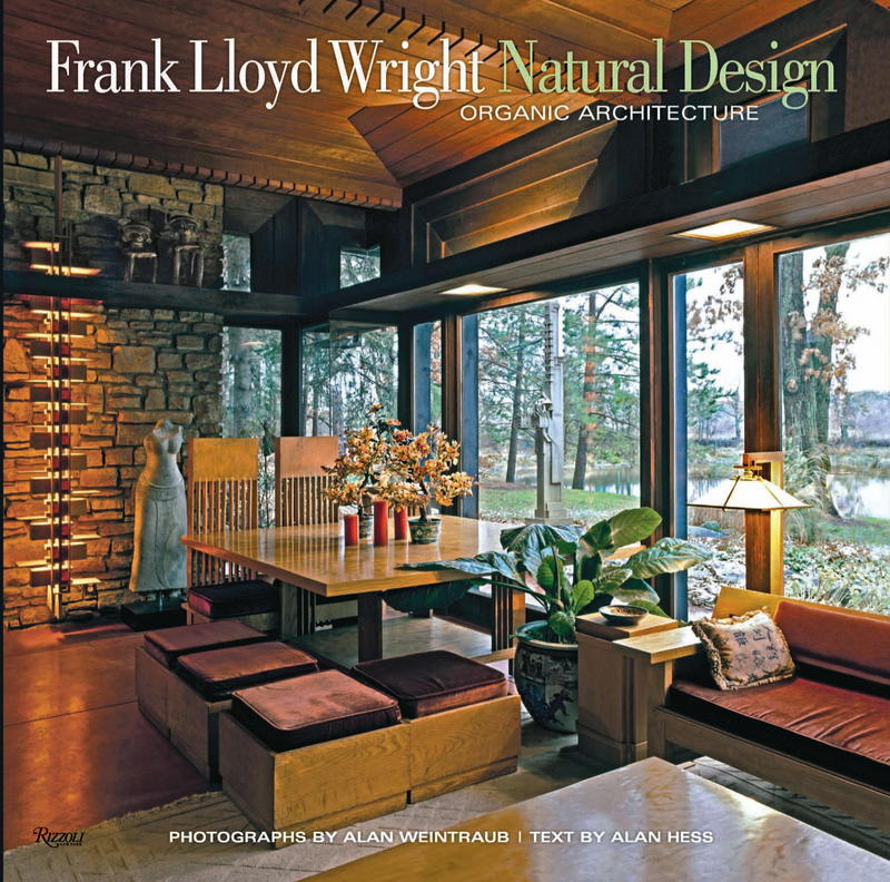 Front cover of Frank Lloyd Wright: Natural Design, Organic Architecture.