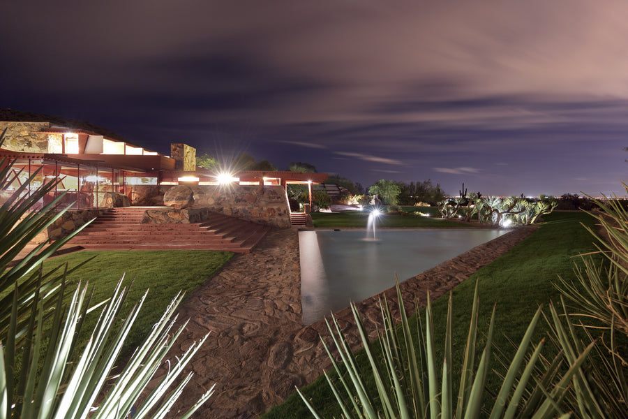 Taliesin West Photograph - Peeking In