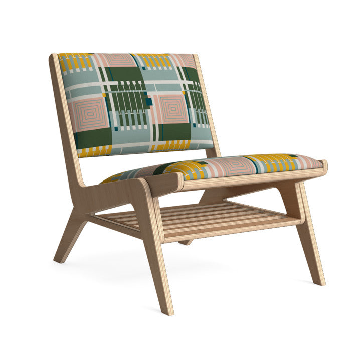 Edgar Lounge Chair in Retro Jungle.