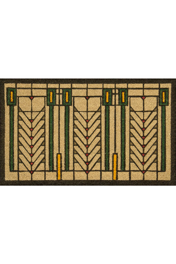 Tree of Life Color Welcome Mat top