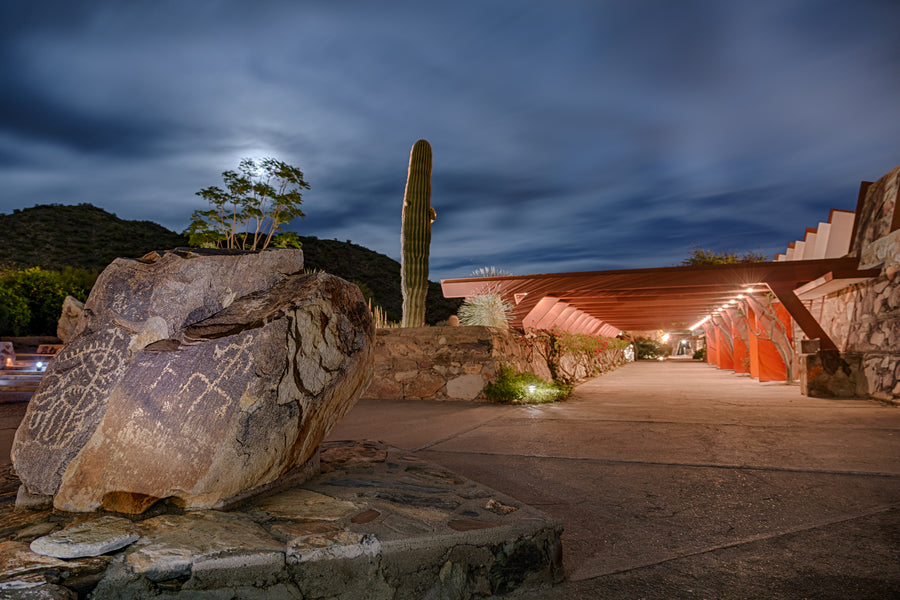 Taliesin West Photograph - Petroglyph Rock