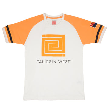 Taliesin West Short Sleeve Raglan Tee Shirt