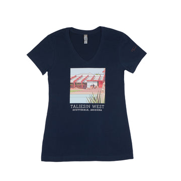 Taliesin West Stained-Glass Women's Tee