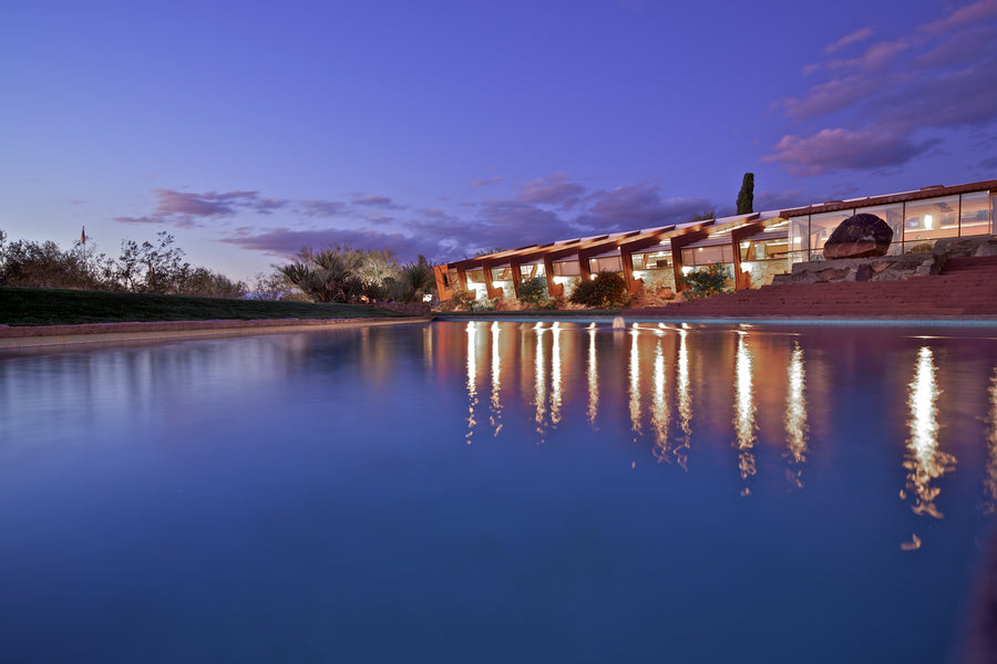 Taliesin West Photograph - Water & Sky