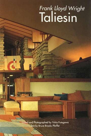 Photo of cover of Frank Lloyd Wright: Taliesin
